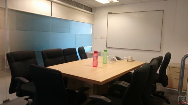 10 seaters Meeting Room Bangalore Koramangala newbridge-business-centre-koramangala
