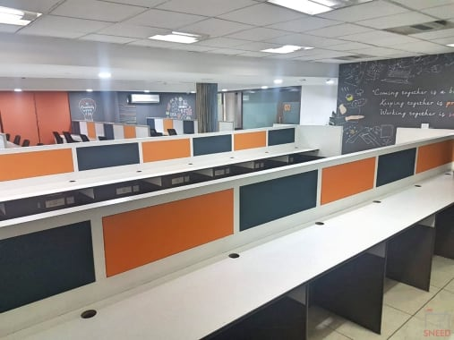 70 seaters Open Desk Noida Sector 59 let's-connect