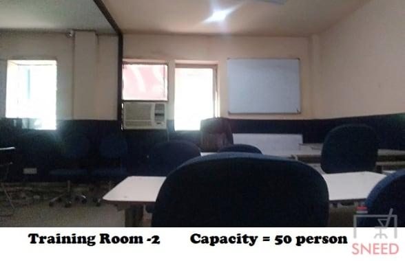 50 seaters Training Room New Delhi Hauz Khas jp-institute
