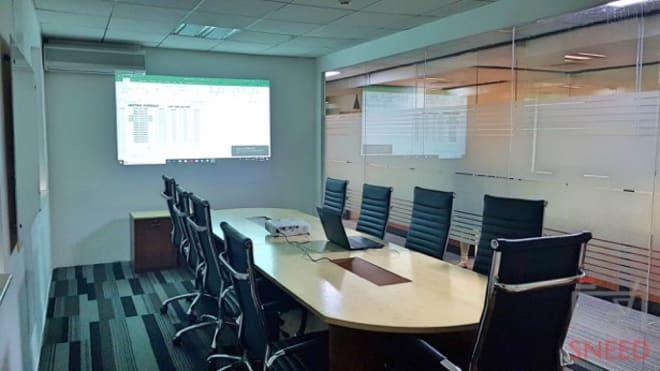 12 seaters Meeting Room Chennai Sholinganallur cactus-coworking