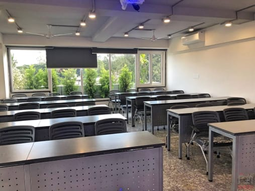 40 seaters Training Room Bangalore Domlur workden-old-airport-road