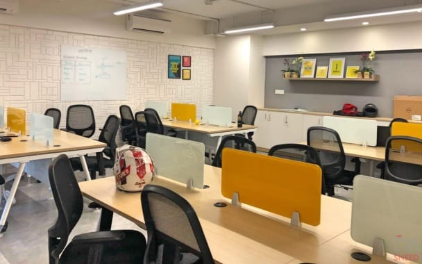 25 seaters Open Desk Bangalore Domlur workden-old-airport-road