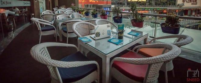 Noida Garden Galleria Mall time-machine-coworking-lounge-myhq