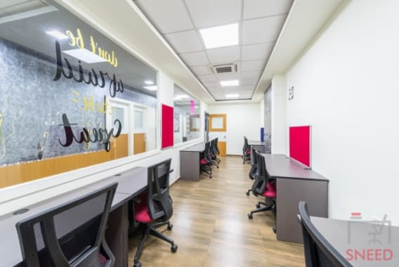 6 seaters Open Desk Bangalore Whitefield upstart-coworking-space