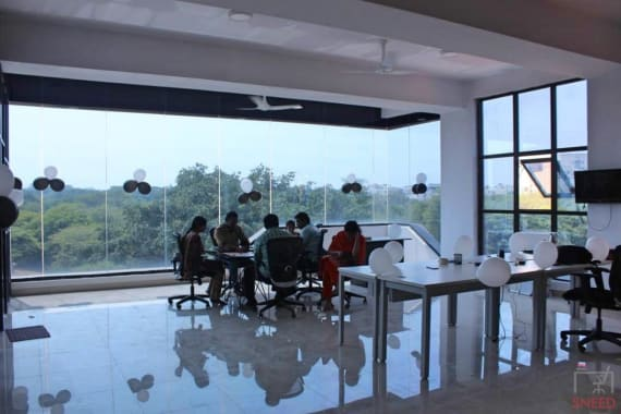 30 seaters Open Desk Bangalore HSR innovation-roots