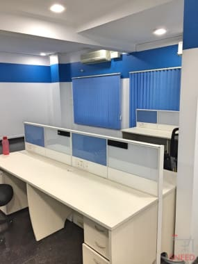 8 seaters Private Room Bangalore KR Puram dolpin-workspace