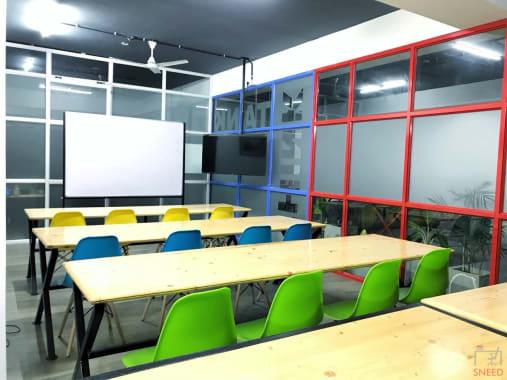25 seaters Training Room Bangalore Banashankari bhive-uttarahalli