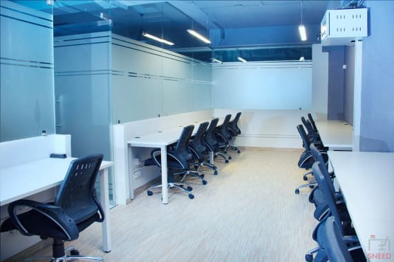 40 seaters Open Desk Noida Sector 3 go4office