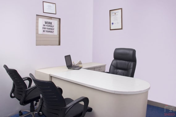 3 seaters Private Room Noida Sector 3 go4office