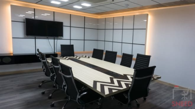 10 seaters Meeting Room Chennai Guindy smartworks-guindy