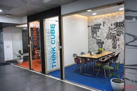 6 seaters Meeting Room Pune Yerawada smartworks-nyati-pune