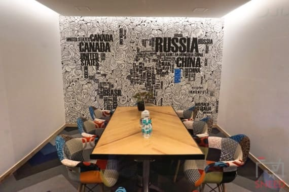 8 seaters Meeting Room Gurgaon Sector 53 smartworks-paras-downtown