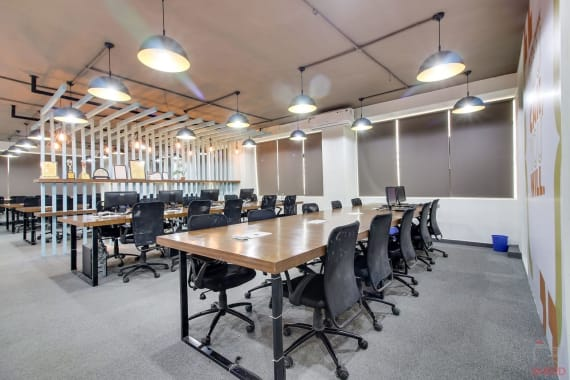 10 seaters Open Desk Pune Baner yesssworks-baner