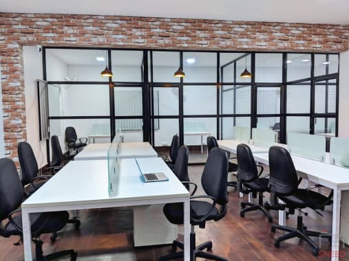 16 seaters Open Desk Bangalore Vijaynagar myntworks