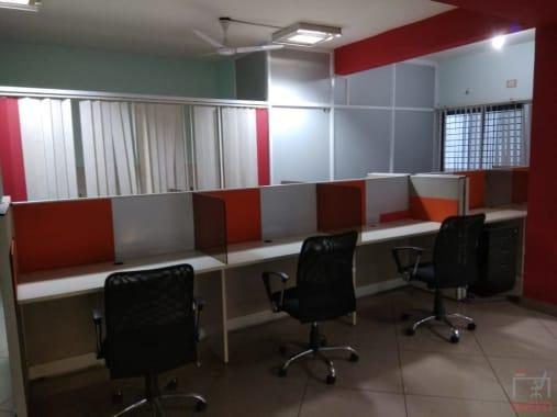 10 seaters Open Desk Bangalore HSR tugave