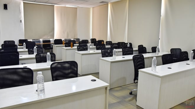 40 seaters Training Room Hyderabad Madhapur the-smart-hive