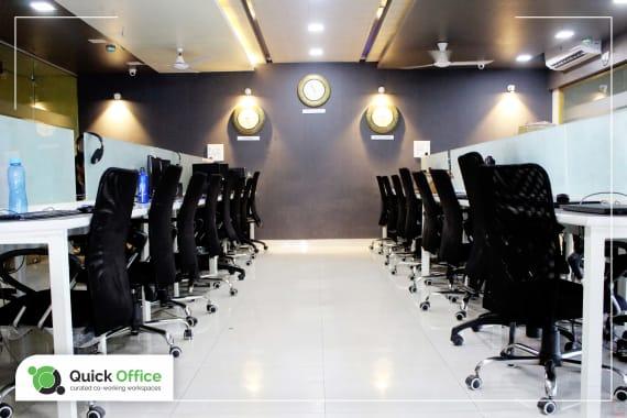80 seaters Open Desk Pune Hinjewadi quick-office