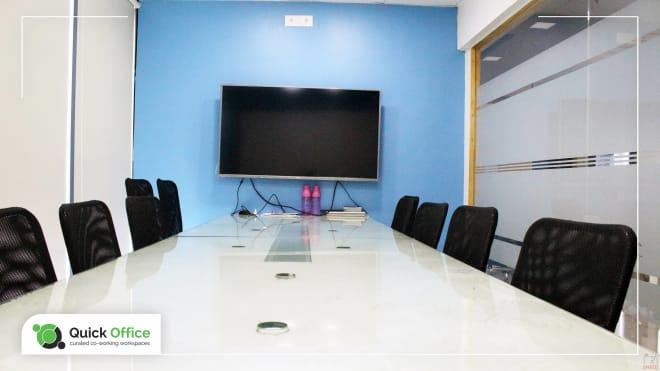10 seaters Meeting Room Pune Hinjewadi quick-office
