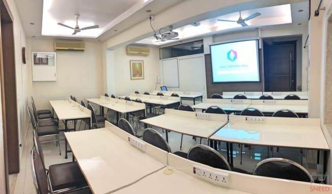 32 seaters Training Room Mumbai Mulund West ruby-training-hall