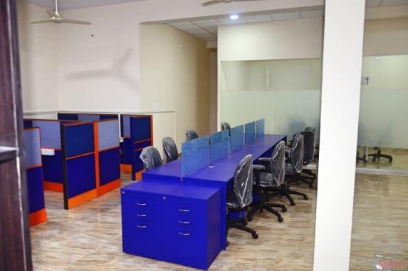 10 seaters Open Desk Bangalore Rajarajeshwari Nagar office-berth