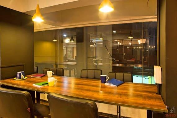 12 seaters Meeting Room Bangalore Koramangala attic-space-koramangala-1