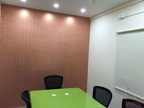 6 seaters Meeting Room Bangalore Kasturi Nagar work2gather