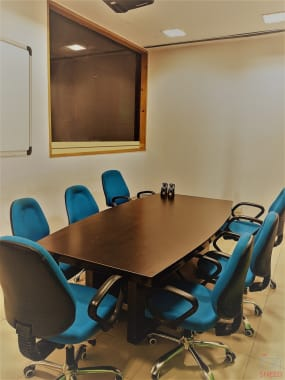 8 seaters Meeting Room Chandigarh Phase 7 the-groove
