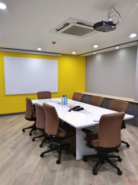 8 seaters Meeting Room Bangalore MG Road novel-office-central
