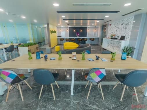 20 seaters Open Desk Gurgaon Sector 38 gohive-sas