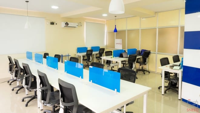 10 seaters Private Room Bangalore Marathahalli inspire-workplace