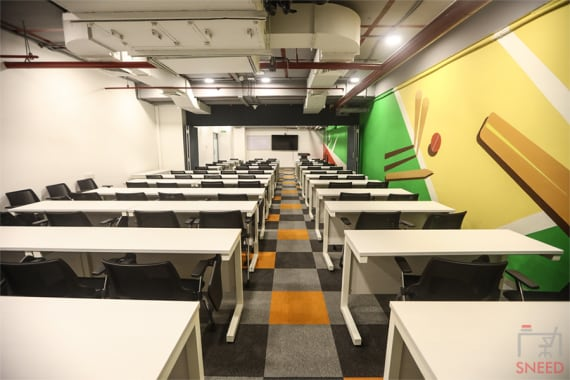 75 seaters Training Room Mumbai Kurla global-institute-of-sports-business