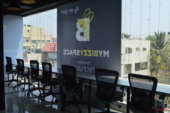 12 seaters Open Desk Bangalore RR Nagar my-bizzy-space
