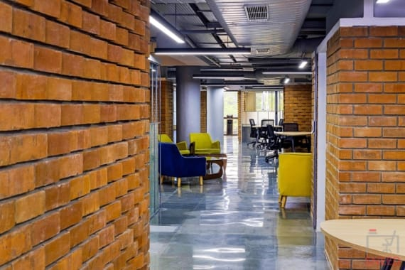 12 seaters Open Desk Bangalore MG Road clayworks-cbd