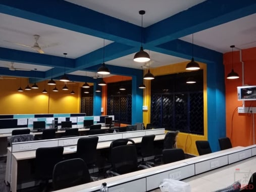 40 seaters Open Desk Bangalore Malleshwaram ilabhub-coworkspace