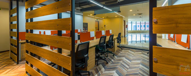 40 seaters Open Desk Gurgaon Sector 44 awfis-sector-44