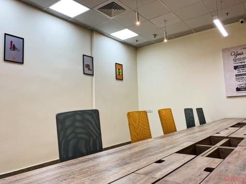 12 seaters Open Desk Mysore MG Road sproutbox-mysore