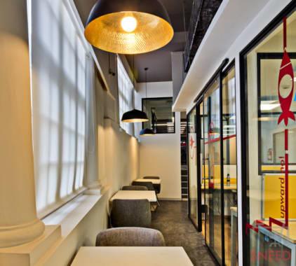 45 seaters Open Desk New Delhi Hauz Khas awfis-qutab