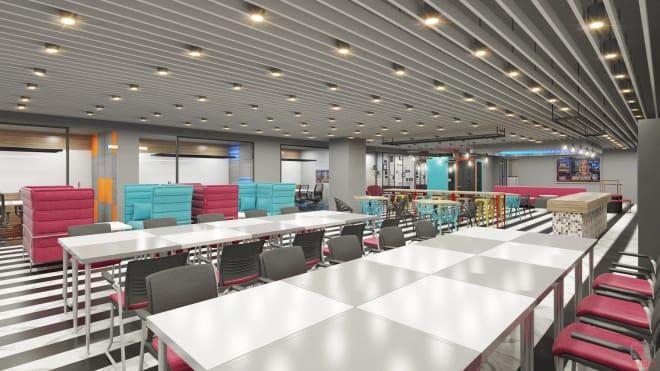 40 seaters Open Desk Hyderabad Hitech City awfis-hitech-city