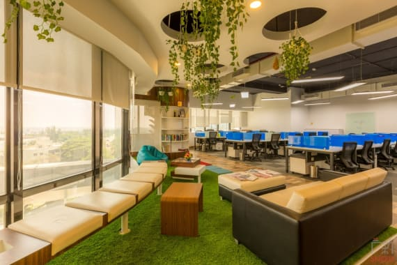 50 seaters Open Desk Bangalore Jayanagar indiqube-southend