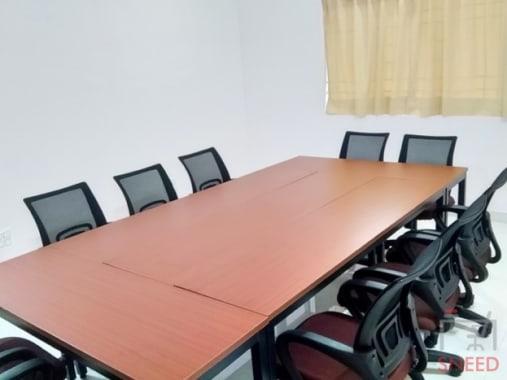 10 seaters Meeting Room Bangalore Hebbal bloom-mode