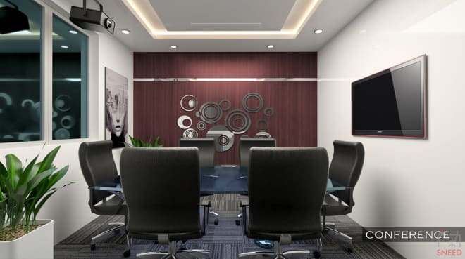 8 seaters Meeting Room Bangalore Whitefield hyrespace-whitefield