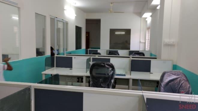 20 seaters Open Desk Bangalore Marathahalli incubes---aecs-layout-c-block