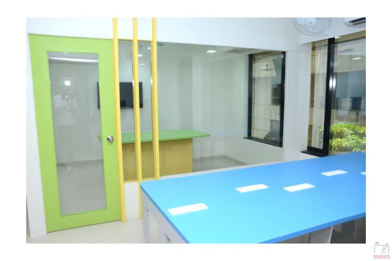 14 seaters Open Desk Pune Karve Nagar qabila-cowork
