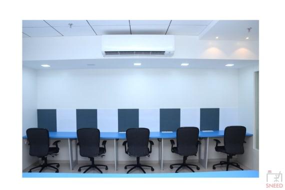 25 seaters Open Desk Pune Karve Nagar qabila-cowork
