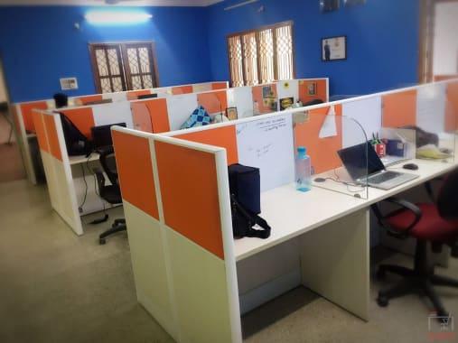 55 seaters Open Desk Bangalore Rajajinagar giga-363