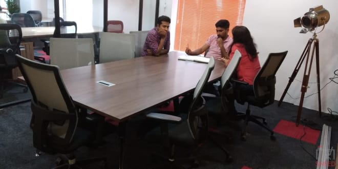 8 seaters Meeting Room Mysore Jaya Laksmi Puram myofficespace