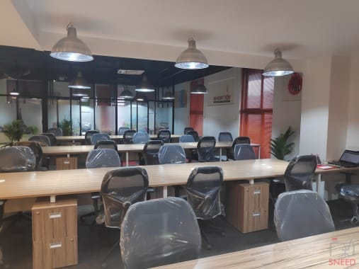 100 seaters Open Desk Mysore Jaya Laksmi Puram myofficespace