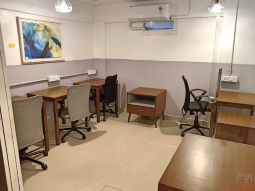 5 seaters Private Room Mumbai Bandra workbay-coworking-bandra