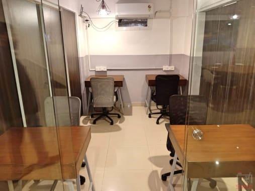 4 seaters Private Room Mumbai Bandra workbay-coworking-bandra
