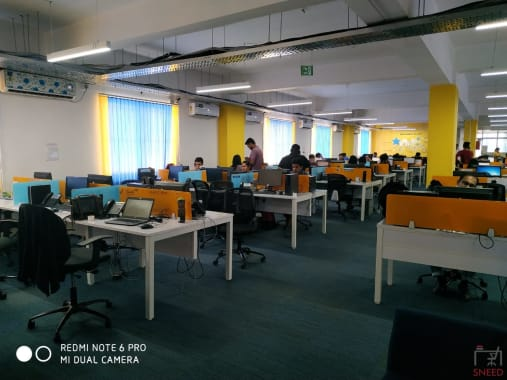 50 seaters Open Desk Bangalore HSR 365sharedspace-sector-3